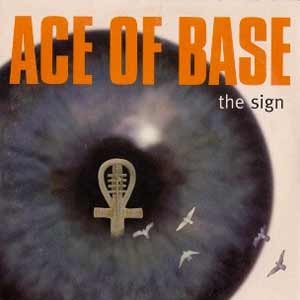 Ace of Base - The Sign - single cover