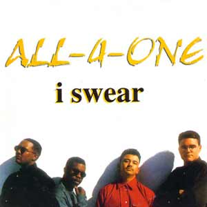 All-4-One - I Swear - single cover