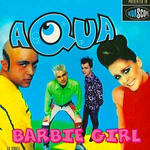 Aqua - Barbie Girl - Single Cover
