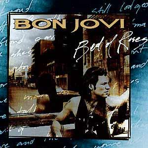 Bon Jovi - Bed Of Roses - single cover
