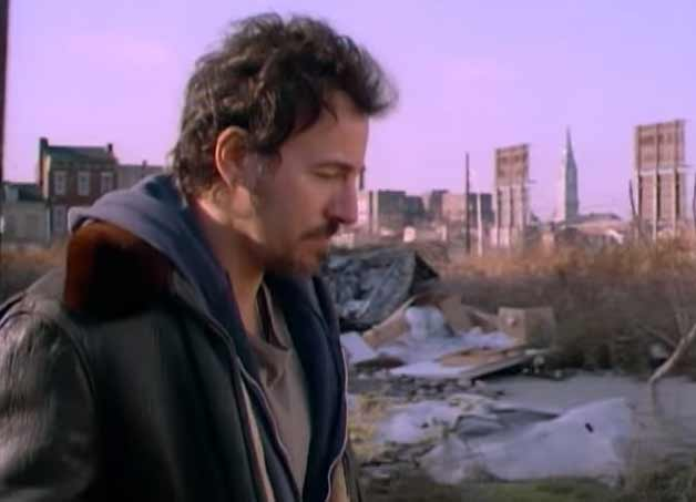 Bruce Springsteen - Streets of Philadelphia - Official Music Video