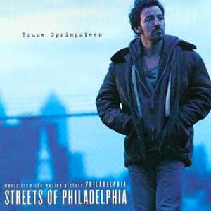 Bruce Springsteen - Streets of Philadelphia - single cover