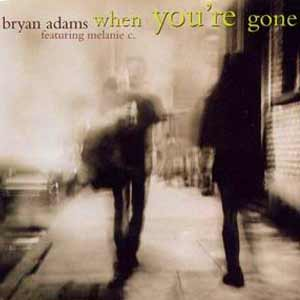 Bryan Adams feat. Melanie C - When You're Gone - single cover