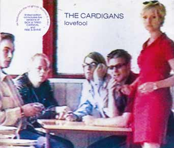 The Cardigans - Lovefool - single cover 1997