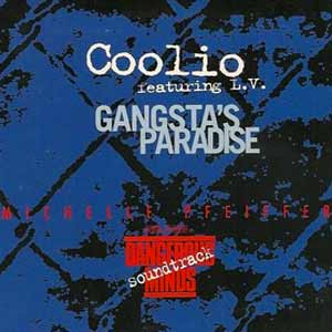 Coolio feat. L.V. - Gangsta's Paradise - single cover