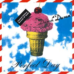 Duran Duran - Perfect Day - Single Cover