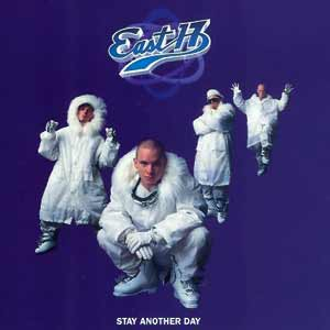 East 17 - Stay Another Day - single cover