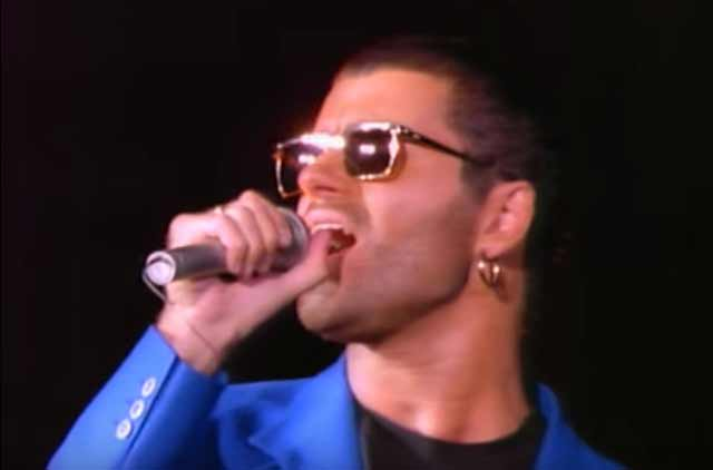 George Michael & Elton John - Don't Let The Sun Go Down On Me (live) - music video
