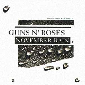 Guns N' Roses - November Rain - Single Cover