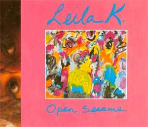 Leila K - Open Sesame - single cover