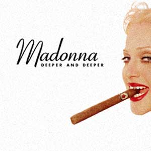 Madonna - Deeper And Deeper - Single Cover
