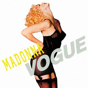 Madonna - Vogue - single cover