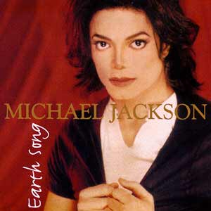 Michael Jackson - Earth Song - single cover