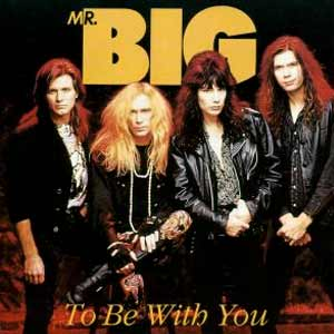 Mr. Big - To Be With You - single cover