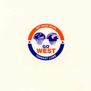 Pet Shop Boys - Go West - single cover