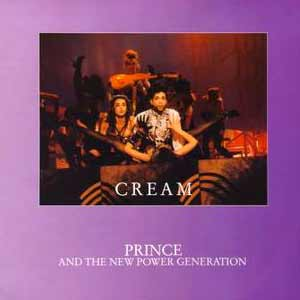 Prince and The New Power Generation - Cream - single cover