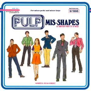 Pulp - Mis-Shapes - single cover