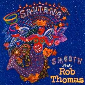 Santana feat. Rob Thomas - Smooth - single cover