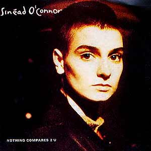 Sinéad O'Connor - Nothing Compares 2U - single cover