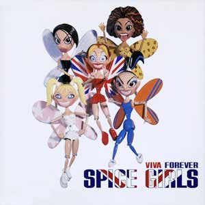 Spice Girls - Viva Forever - single cover