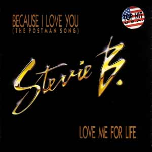 Stevie B - Because I Love You (The Postman Song) - single cover