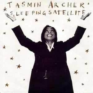 Tasmin Archer - Sleeping Satellite - single cover
