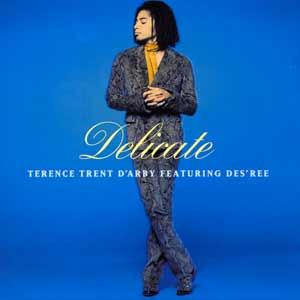 Terence Trent D'Arby feat. Des'Ree - Delicate - single cover