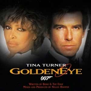 Tina Turner - Golden Eye - single cover goldeneye