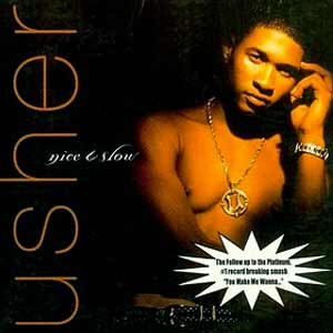 Usher - Nice & Slow - single cover