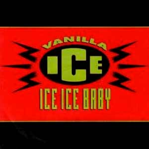 Vanilla Ice - Ice Ice Baby - single cover