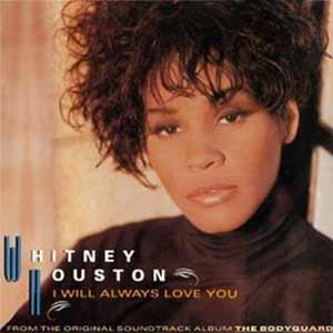 Whitney Houston - I Will Always Love You - Single Cover Bodyguard