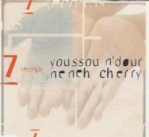 Youssou N'Dour ft. Neneh Cherry - 7 Seconds - single cover