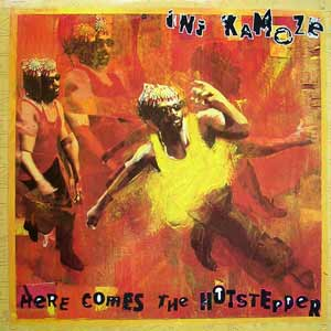 Ini Kamoze - Here Comes the Hotstepper - single cover