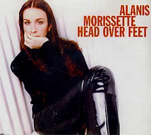Alanis Morissette - Head Over Feet - single cover