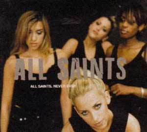 All Saints - Never Ever - single cover