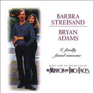 Barbra Streisand & Bryan Adams - single cover