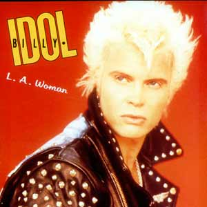 Billy Idol - L.A. Woman - single cover