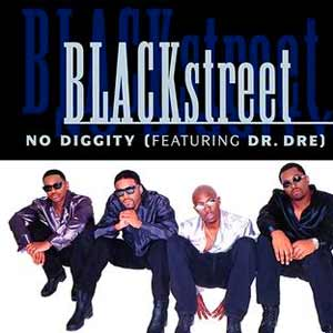 Blackstreet feat. Dr. Dre - No Diggity - single cover
