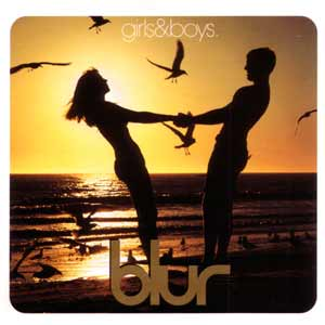 Blur - Girls And Boys - single cover