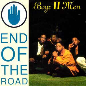 Boyz II Men - End Of The Road - single cover