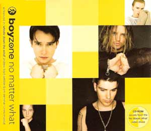Boyzone - No Matter What - single cover