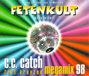 C.C.Catch feat. Krayzee - Megamix '98 - single cover