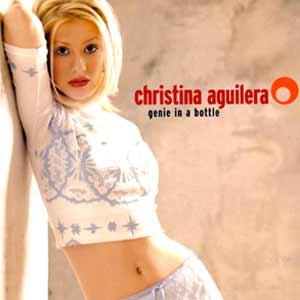 Christina Aguilera - Genie In A Bottle - single cover