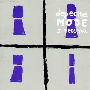 Depeche Mode - I Feel You - single cover