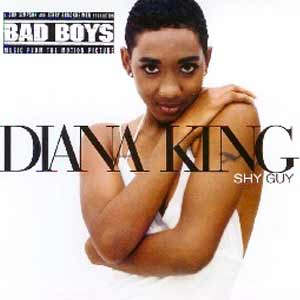 Diana King - Shy Guy - single cover