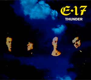 East 17 - Thunder - single cover