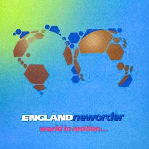 New Order - World In Motion - single cover