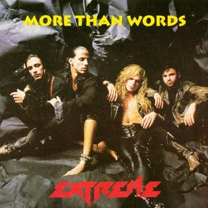 Extreme - More Than Words - single cover