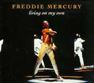 Freddie Mercury - Living On My Own (1993 'No More Brothers' Mix) - single cover