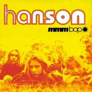 Hanson - MMMBop - single cover